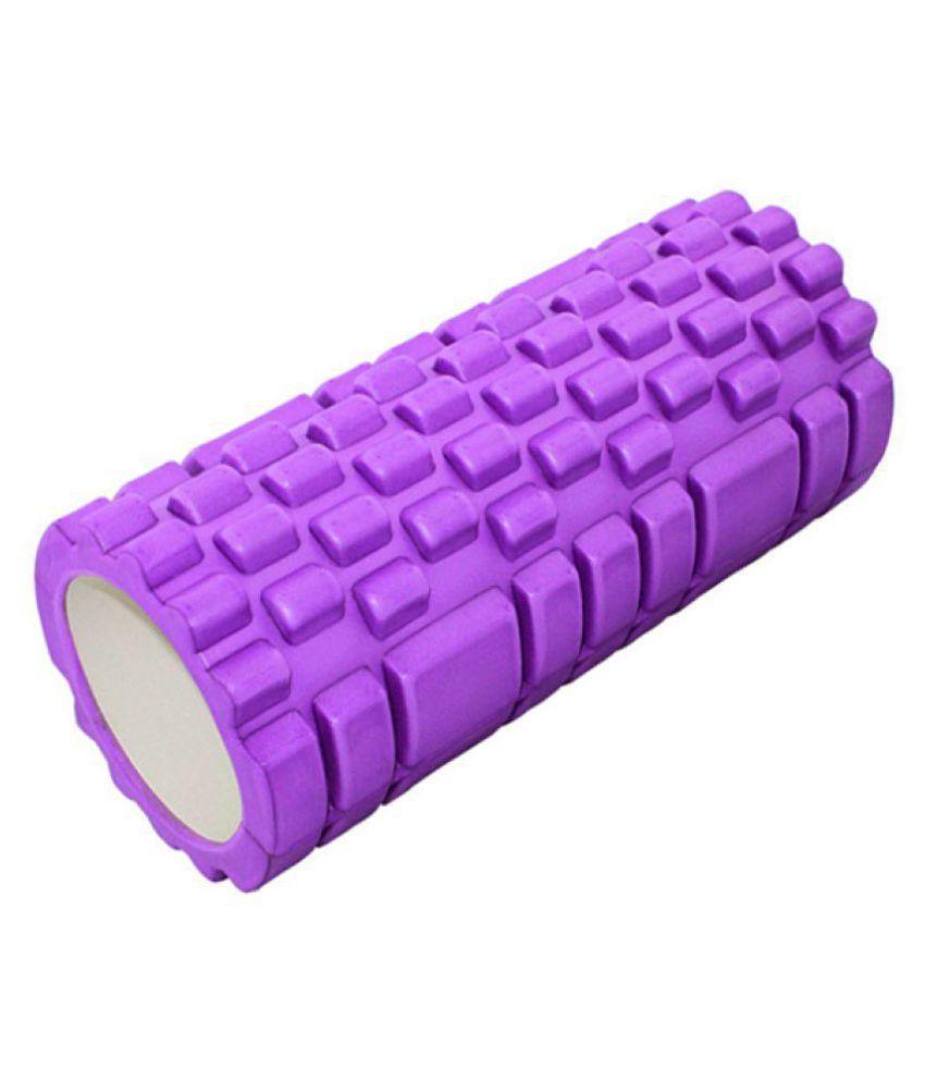 Jubilant Lifestyle Foam Roller Fitness/ Yoga/ Gym/ Pilates/ Balance Exercise Equipment For Stretching, Massage & Free Body Workout. size-65 cm
