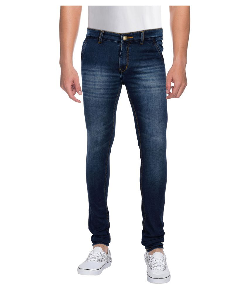 Royal Impex Blue Slim Jeans