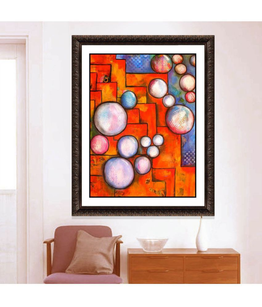 IMAGINATIONS Framed Digital Modern Art Canvas Painting Canvas Painting With Frame