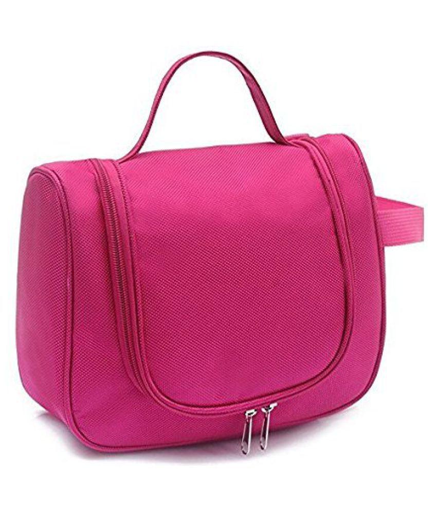 Kanha Pink Toiletry Bag Kit Travel Organizer Cosmetic Bags