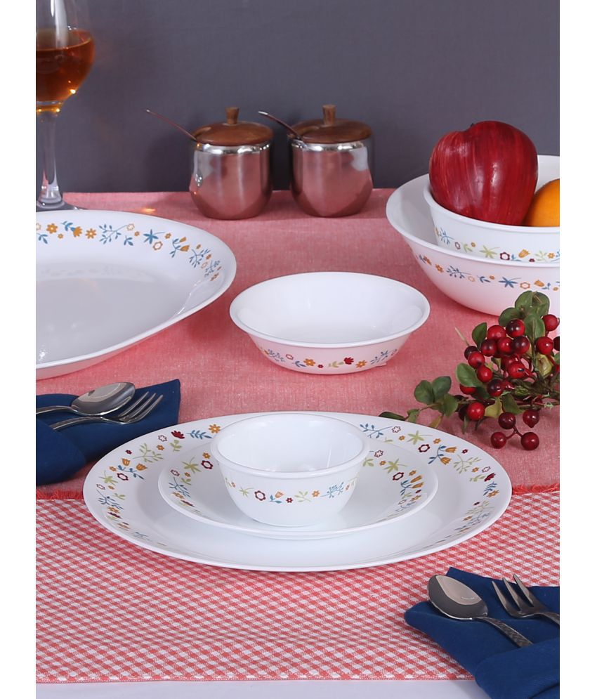 Corelle 8903813225108 Glass Dinner Set of 30 Pieces: Buy ...