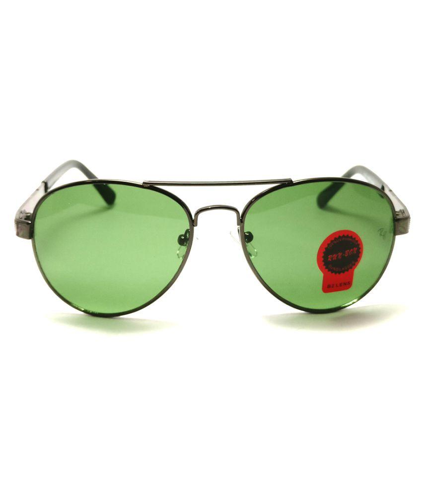 Mikel Kors Green Aviator Sunglasses ( MK Aviator 01 )