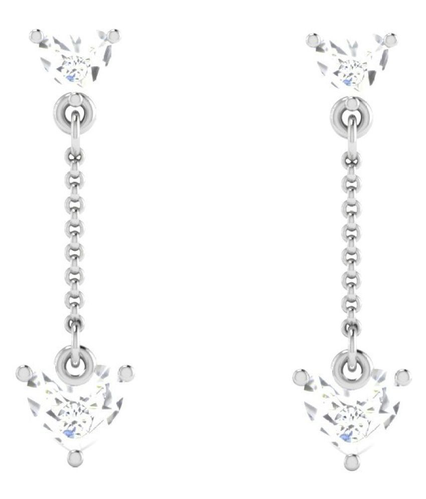 His & Her 92.5 Silver Diamond Hangings