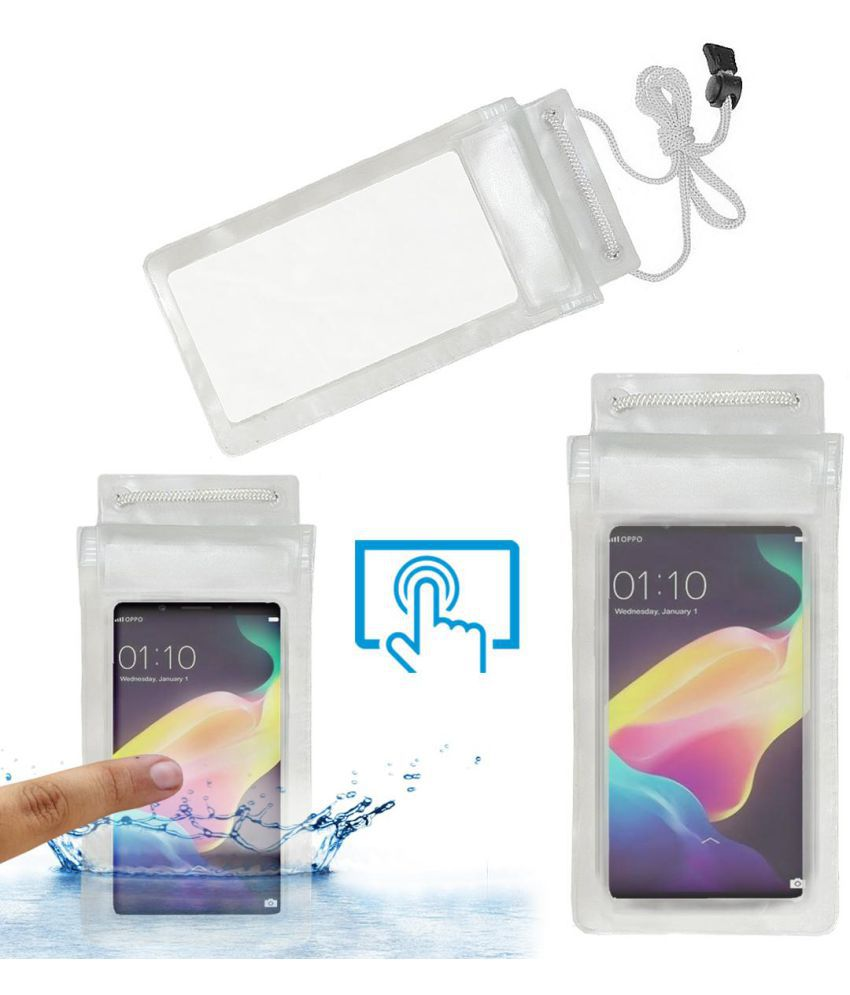Oppo F5 Youth Holster Cover by ACM - Transparent