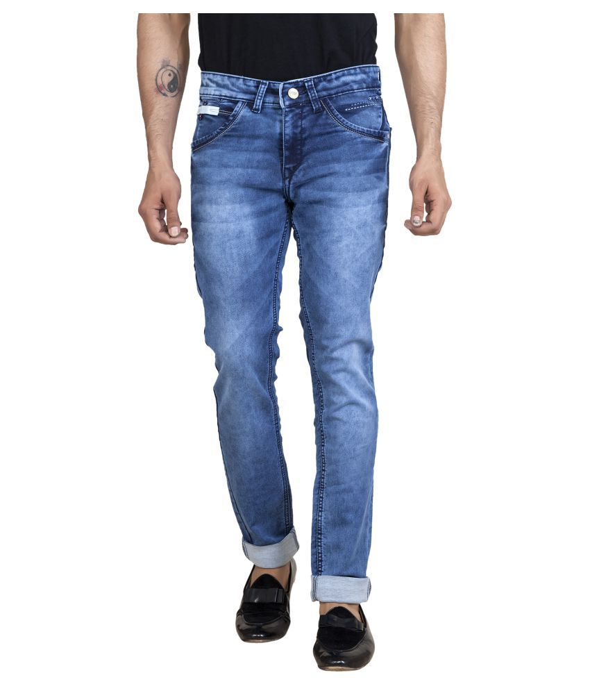 ROAD ROCKERS Blue Skinny Jeans