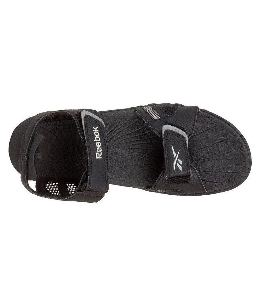 745532e7fbfde0 Reebok V48195-10 Black Sandals Price in India- Buy Reebok V48195-10 ...
