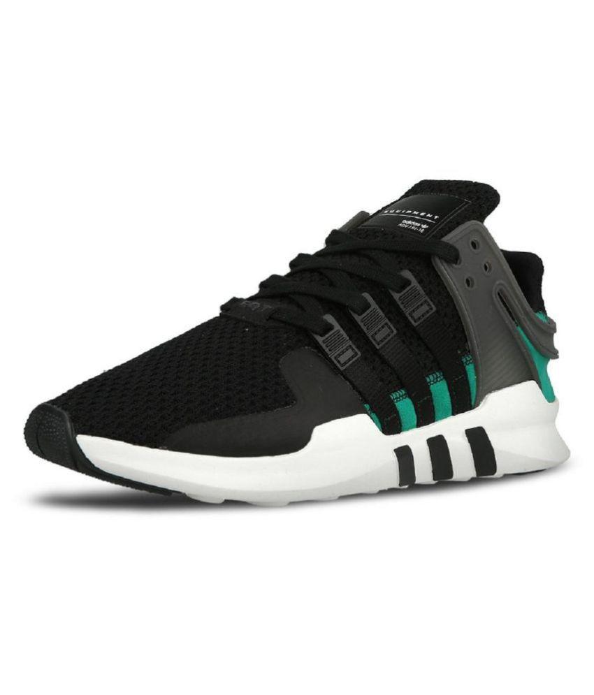 promo code ac4b4 f2db4 Adidas Equipment Support ADV Black Running Shoes