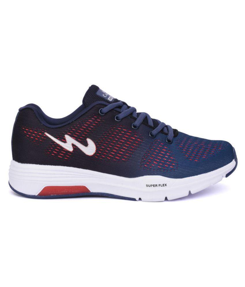Campus QUANTUM Navy Running Shoes - Buy