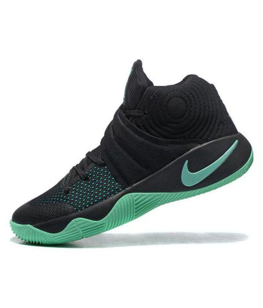 "c2dc2007108b Nike Kyrie 2 ""GREEN GLOW"" Black Basketball Shoes - Buy Nike Kyrie 2 ..."