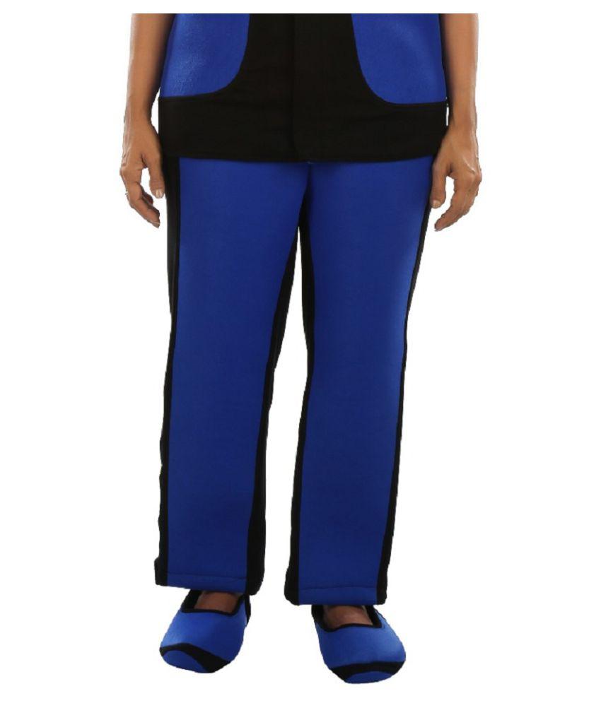 Tavoy Polyester Blue Apparel Bottomwear M