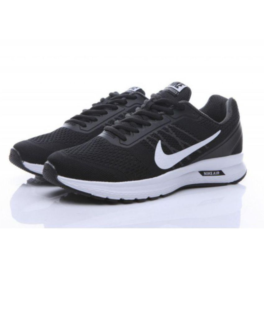 70453cd3b46 Nike AIR RELENTLESS 5 Black Running Shoes - Buy Nike AIR RELENTLESS 5 Black  Running Shoes Online at Best Prices in India on Snapdeal