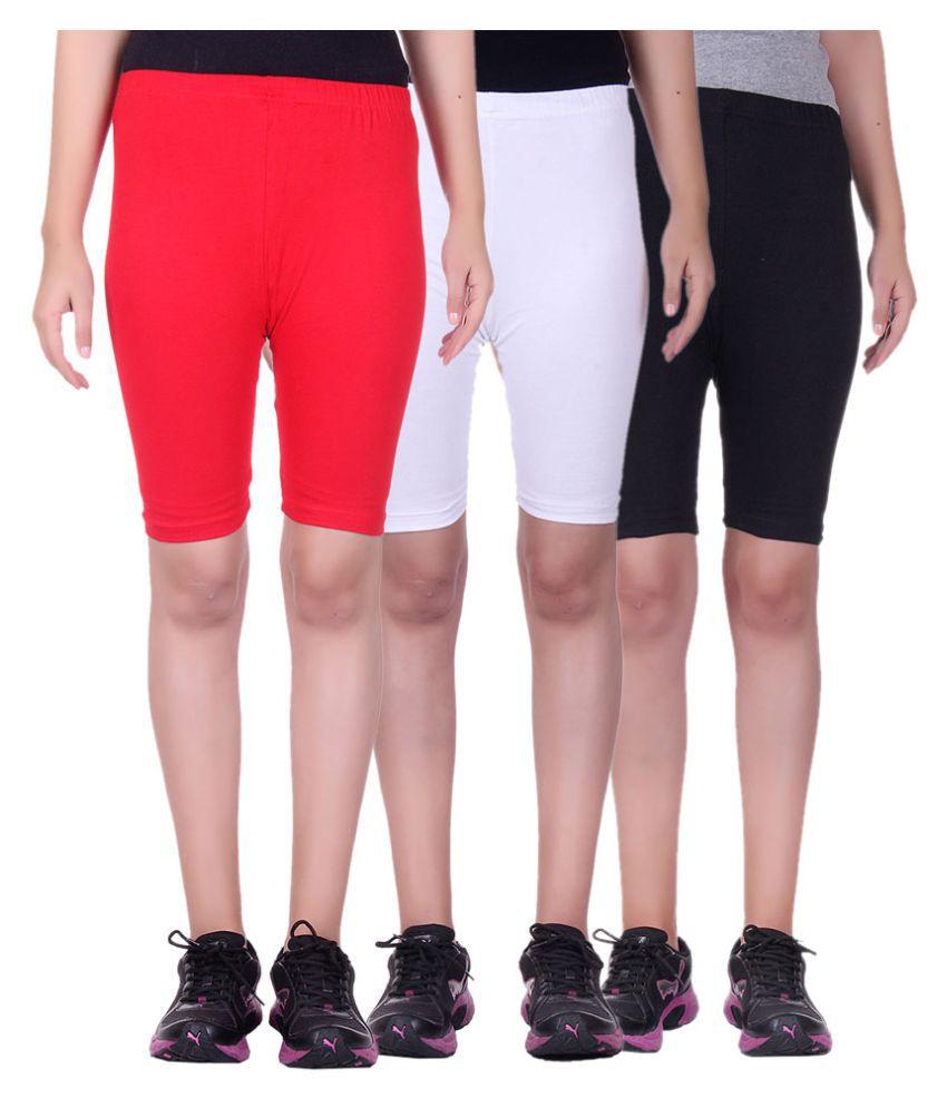 Belmarsh Girls Cycling Shorts - Pack of 3