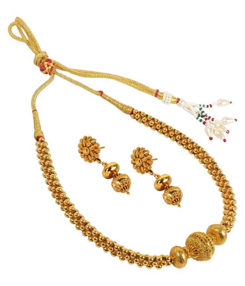 3757f40d73940c MUCH MORE Ethnic Design Made Gold Plated Charm Look Polki Necklace Set For  Women - Buy MUCH MORE Ethnic Design Made Gold Plated Charm Look Polki  Necklace ...