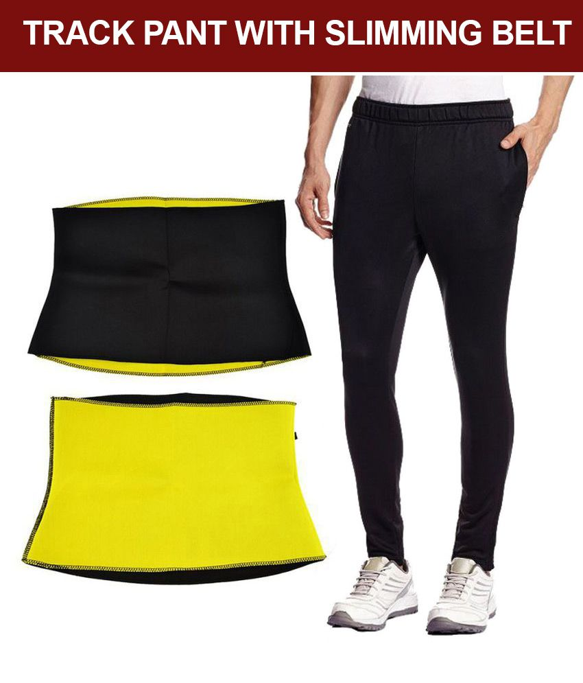 Get In Shape Fitness Belt & Track Pant