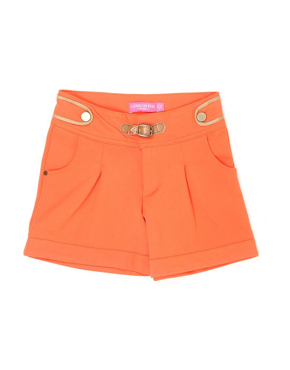 London Fog Girls Orange  Short
