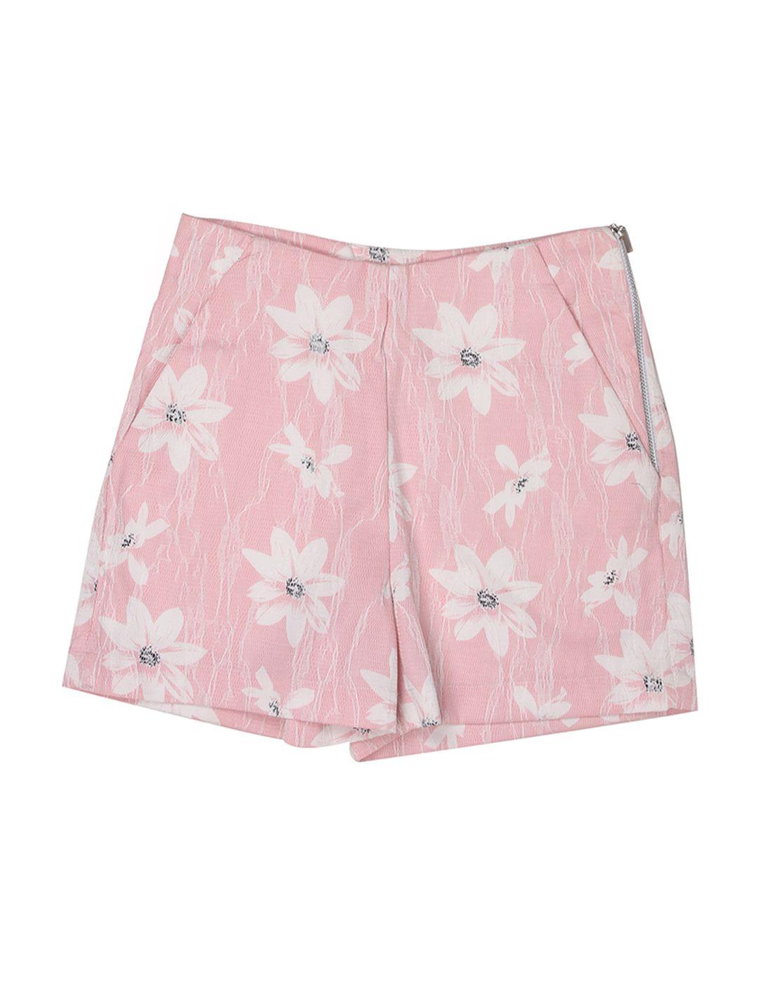 London Fog Girls Pink  Short