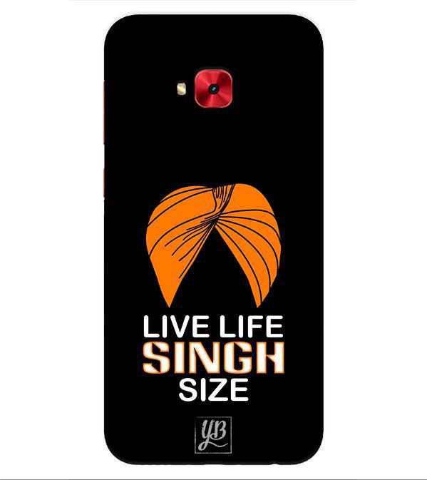 Asus Zenfone 4 Selfie 3D Back Covers By YuBingo