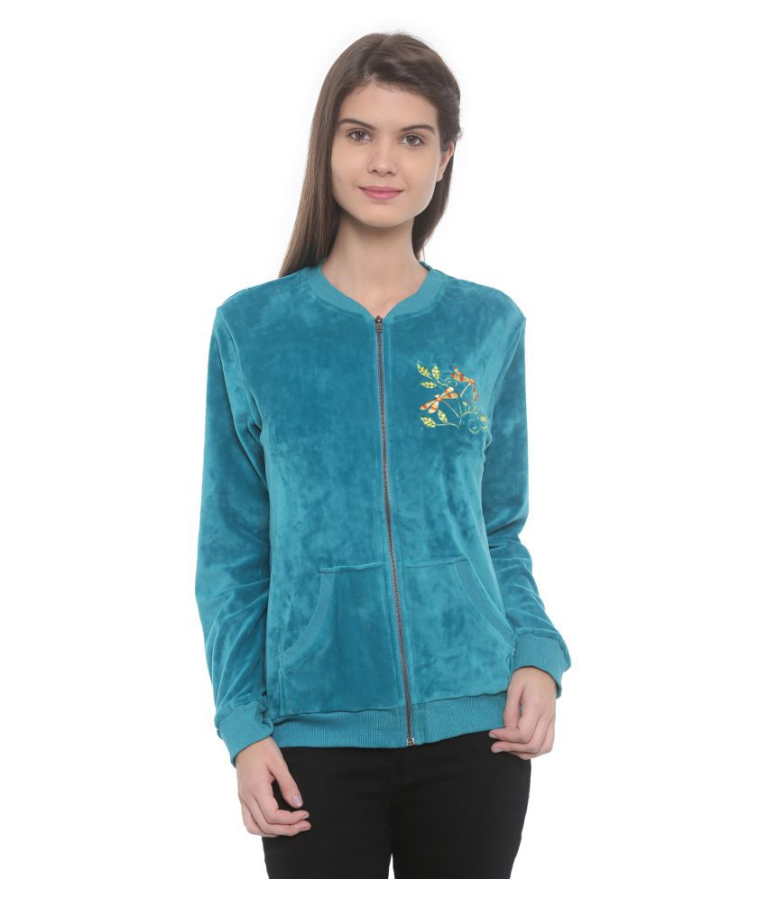 Mystere Paris Butterfly Velour Jacket