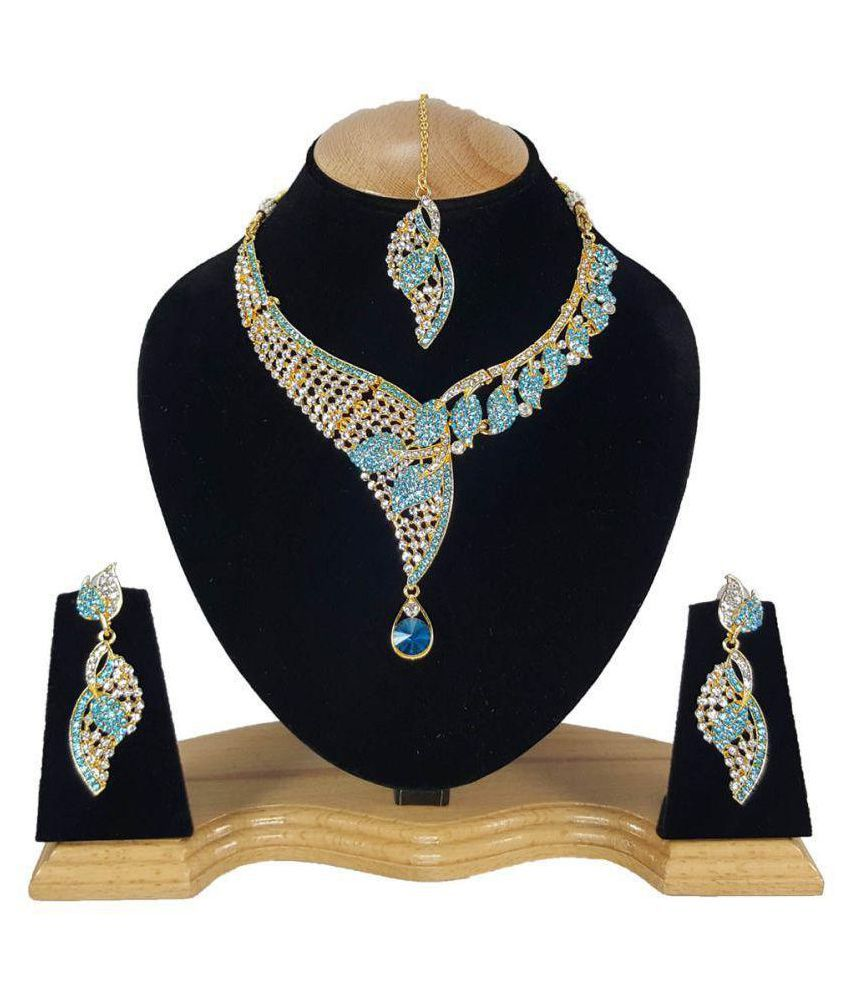 Kundan Zirconic Necklace Set