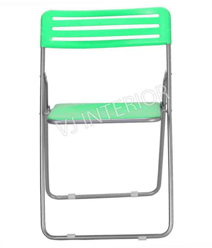 Plastic Folding Chair Green
