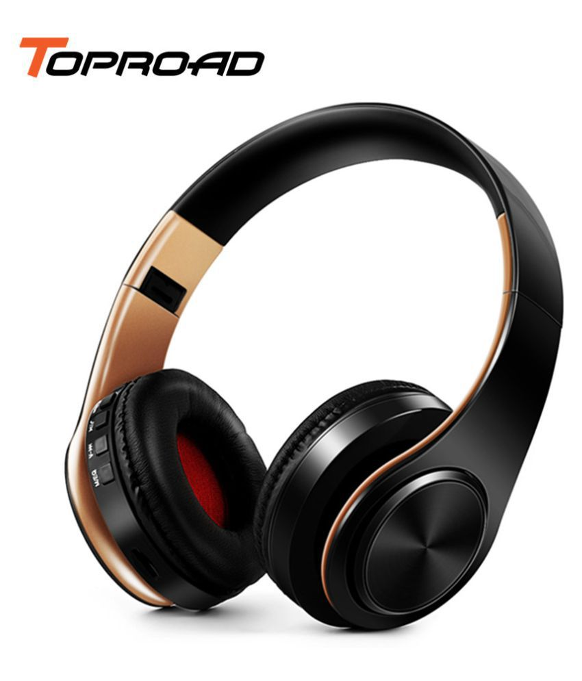 Wowobjects Wireless Bluetooth Headphone Colorful Stereo Audio Mp3 Headset Foldable Fone De Ouvido With Microphone Support Sd Card