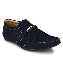 Vinco Men's Lifestyle-01 Lifestyle Blue Casual Shoes