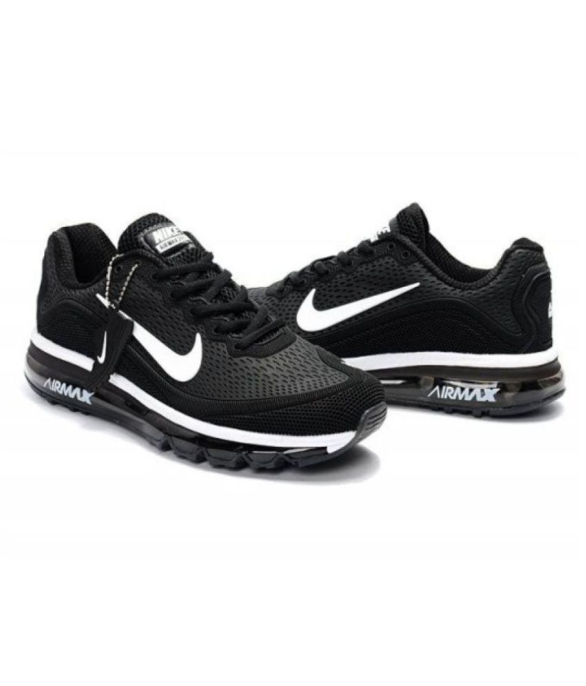 f5b58a1db7 Nike Airmax 2018 Limited Edition Black Running Shoes - Buy Nike Airmax 2018  Limited Edition Black Running Shoes Online at Best Prices in India on  Snapdeal