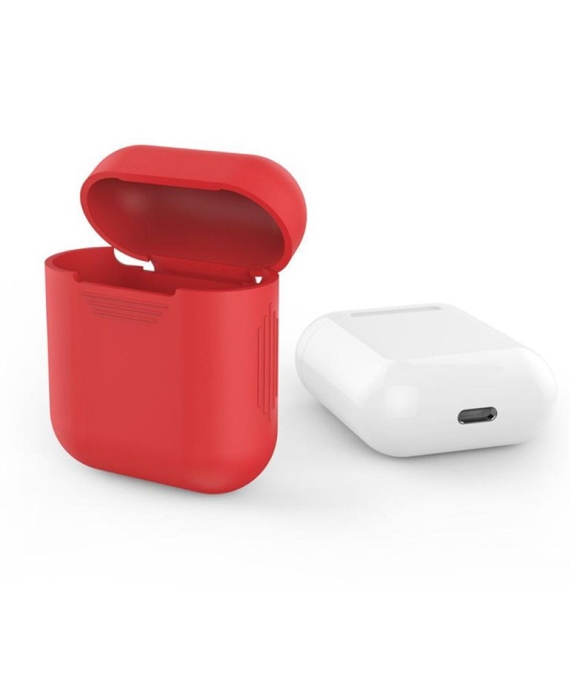 Wowobjects For Apple Airpods Case Silicone Shock Proof Protector Sleeve Skin Cover For Airpods True Wireless Earphone