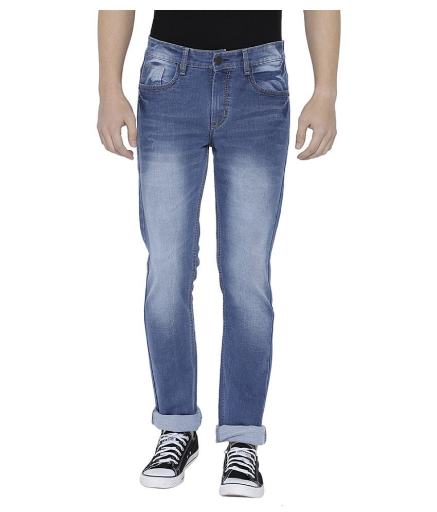 Neva Light Blue Regular Fit Jeans
