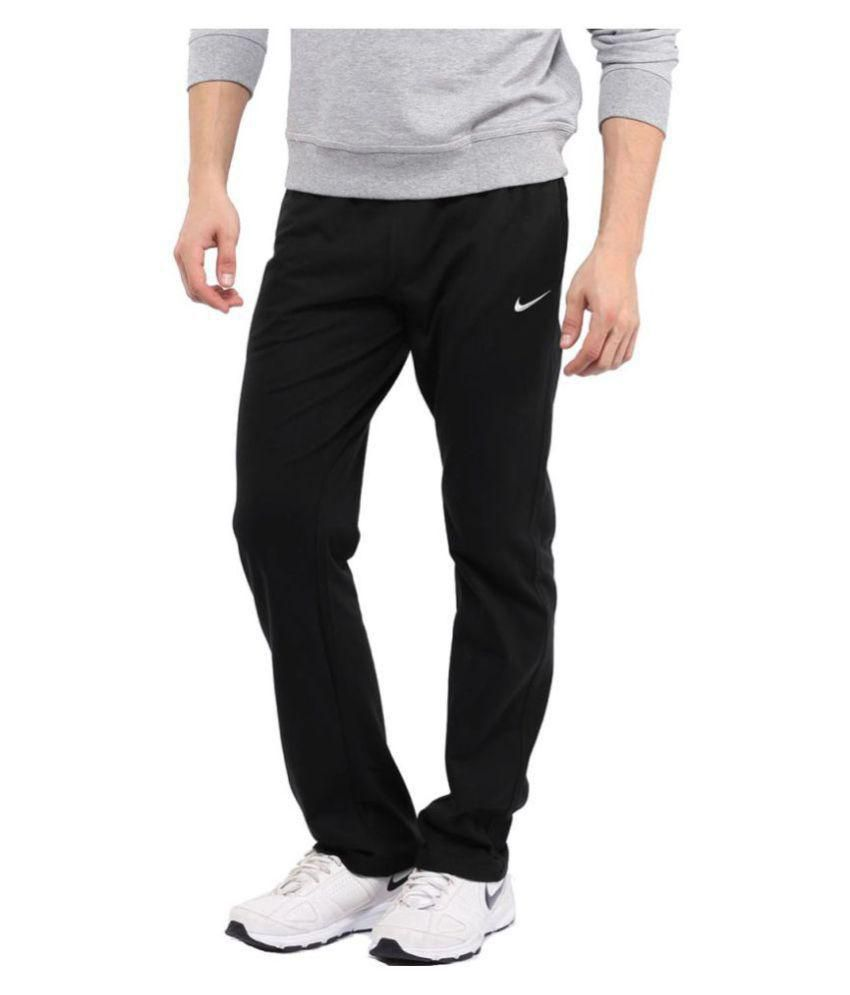 Nike Black/Blue Men/Boy's trackPant for Running