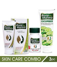 Roop Mantra Skin Care Combo Package (1 Cream, 1 Face Wash & 1 Capsules)