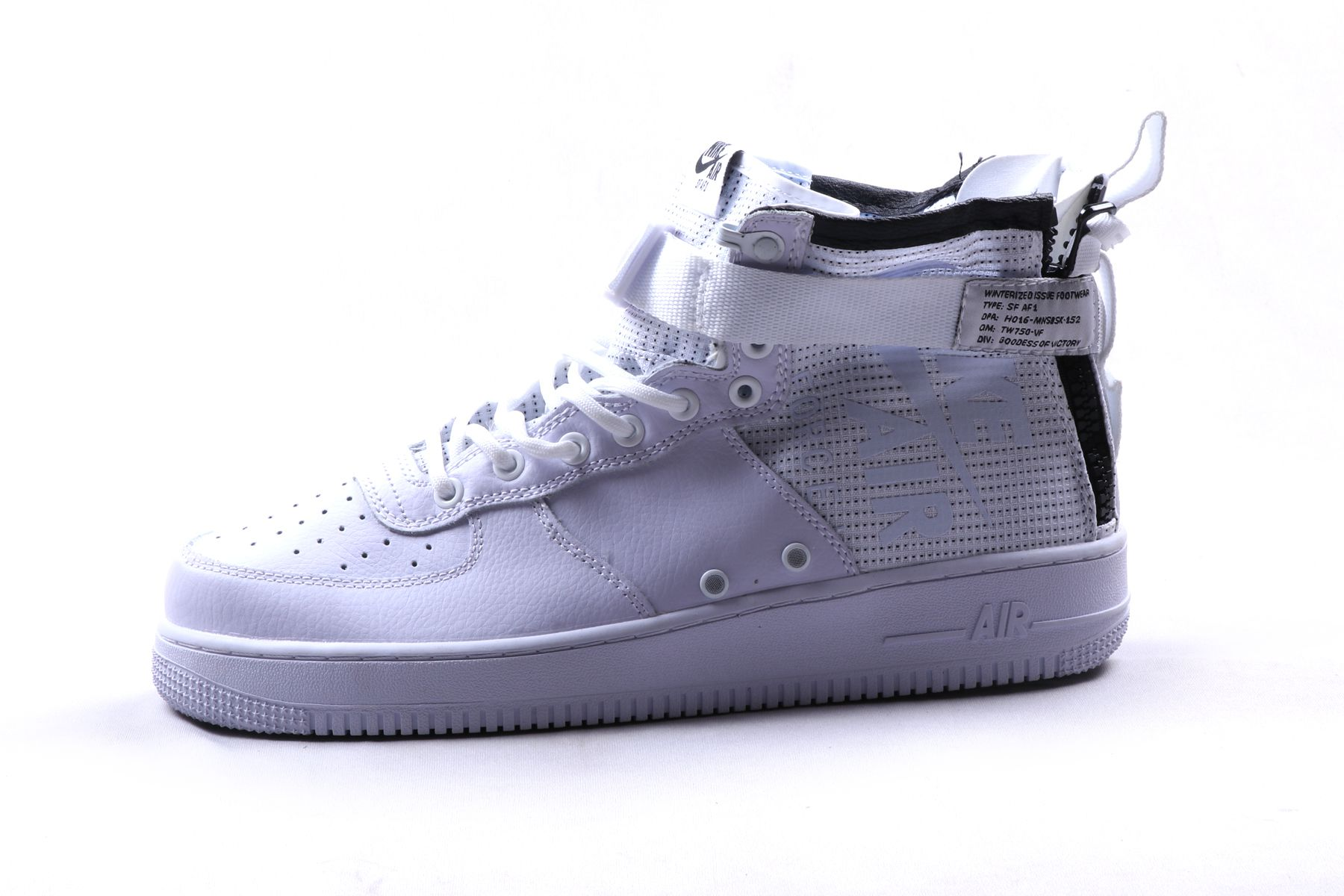 timeless design bf546 f9211 Nike 1 SF AIR FORCE 1 MID White Sneakers White Casual Shoes - Buy Nike 1 SF  AIR FORCE 1 MID White Sneakers White Casual Shoes Online at Best Prices in  India ...