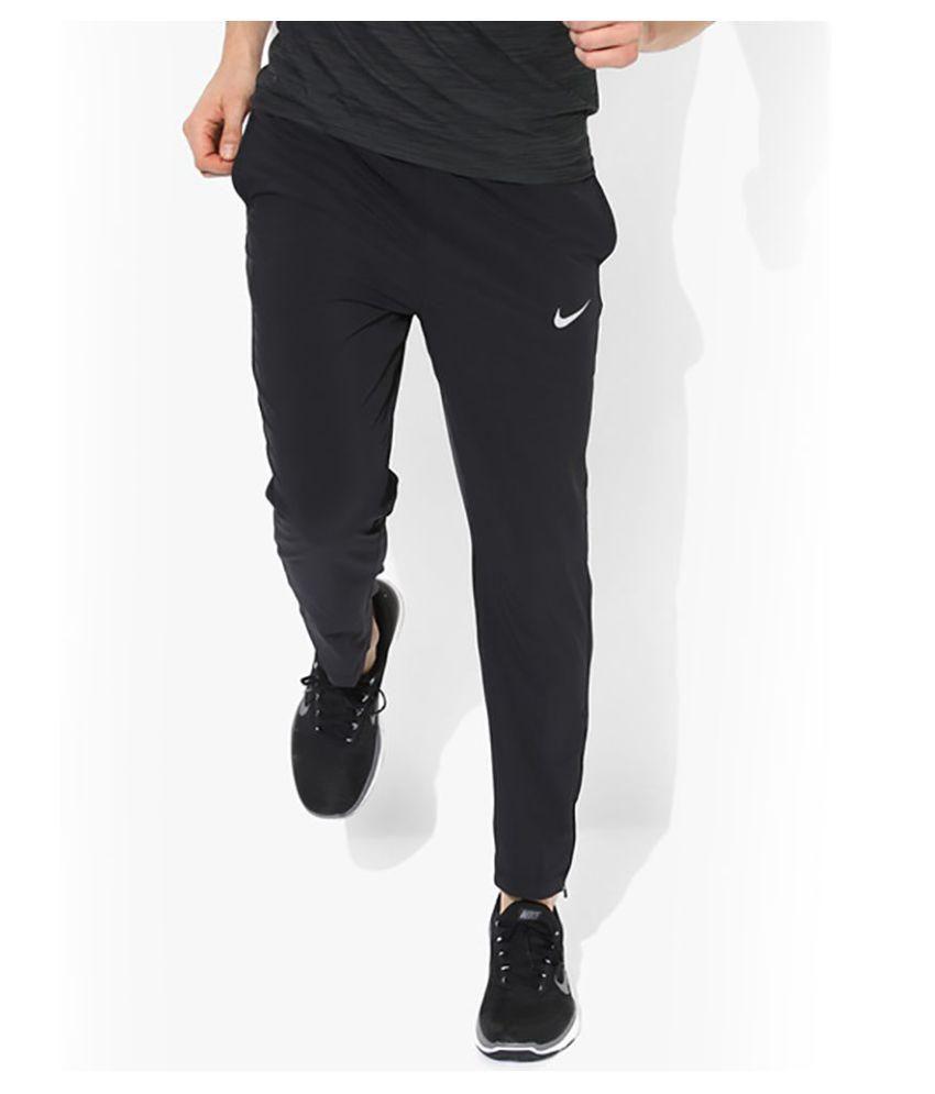 Nike Black Men/Boy's trackPant for Walking