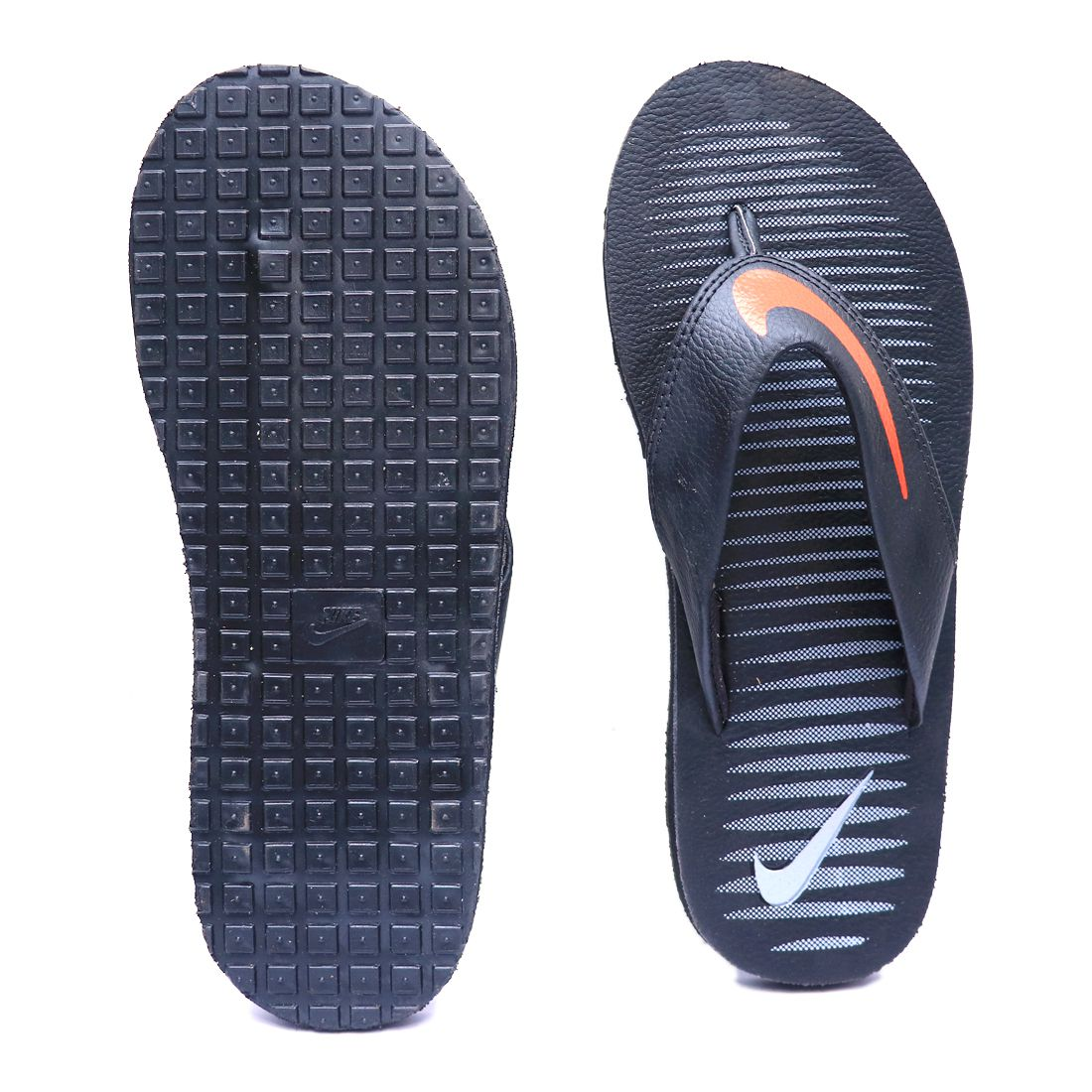 promo code 3a37f 569f0 Nike CHROMA THONG 5 black Red Thong Flip Flop