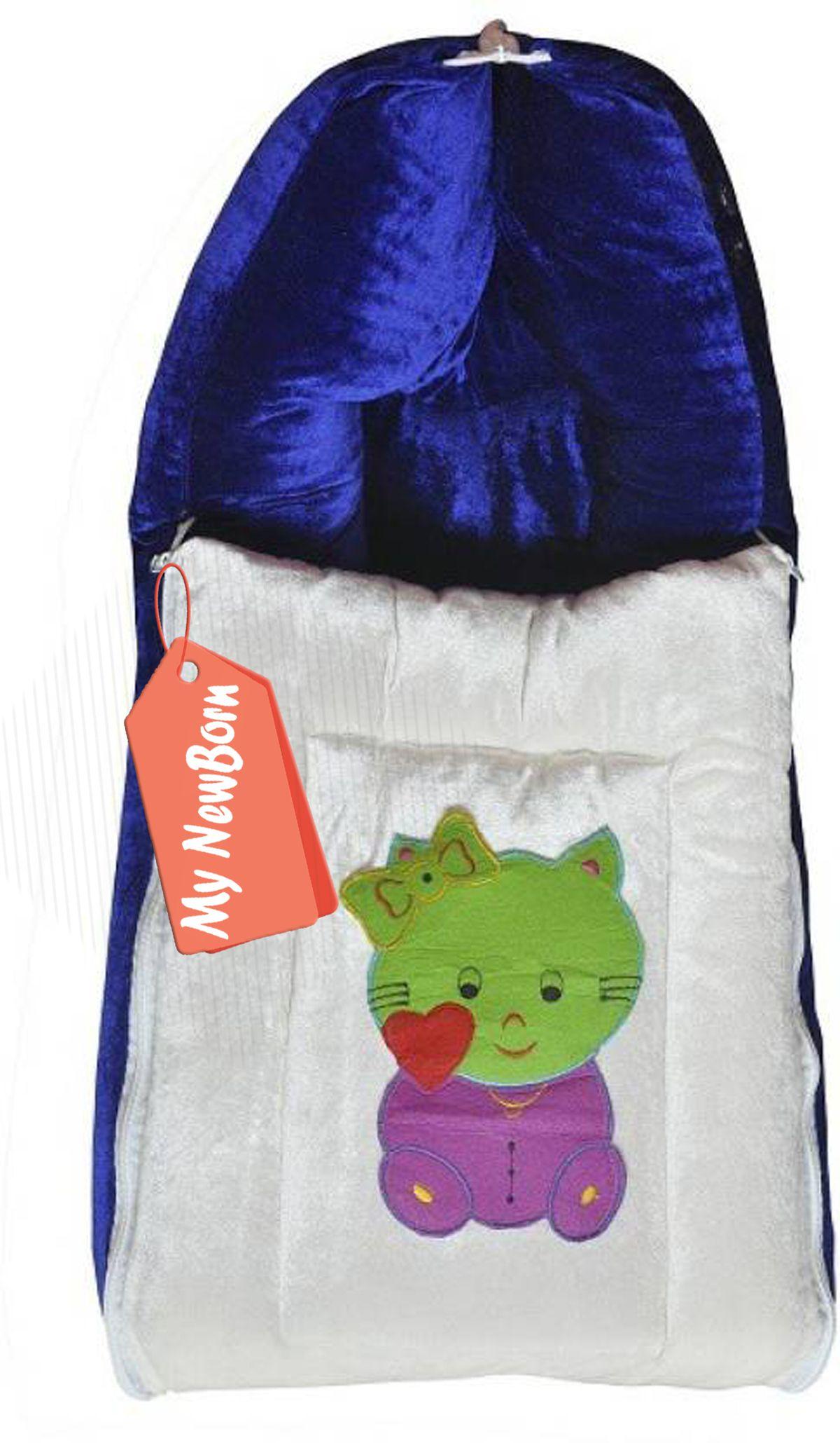 My NewBorn Blue Flannel Sleeping Bags ( 70 cm × 34 cm)