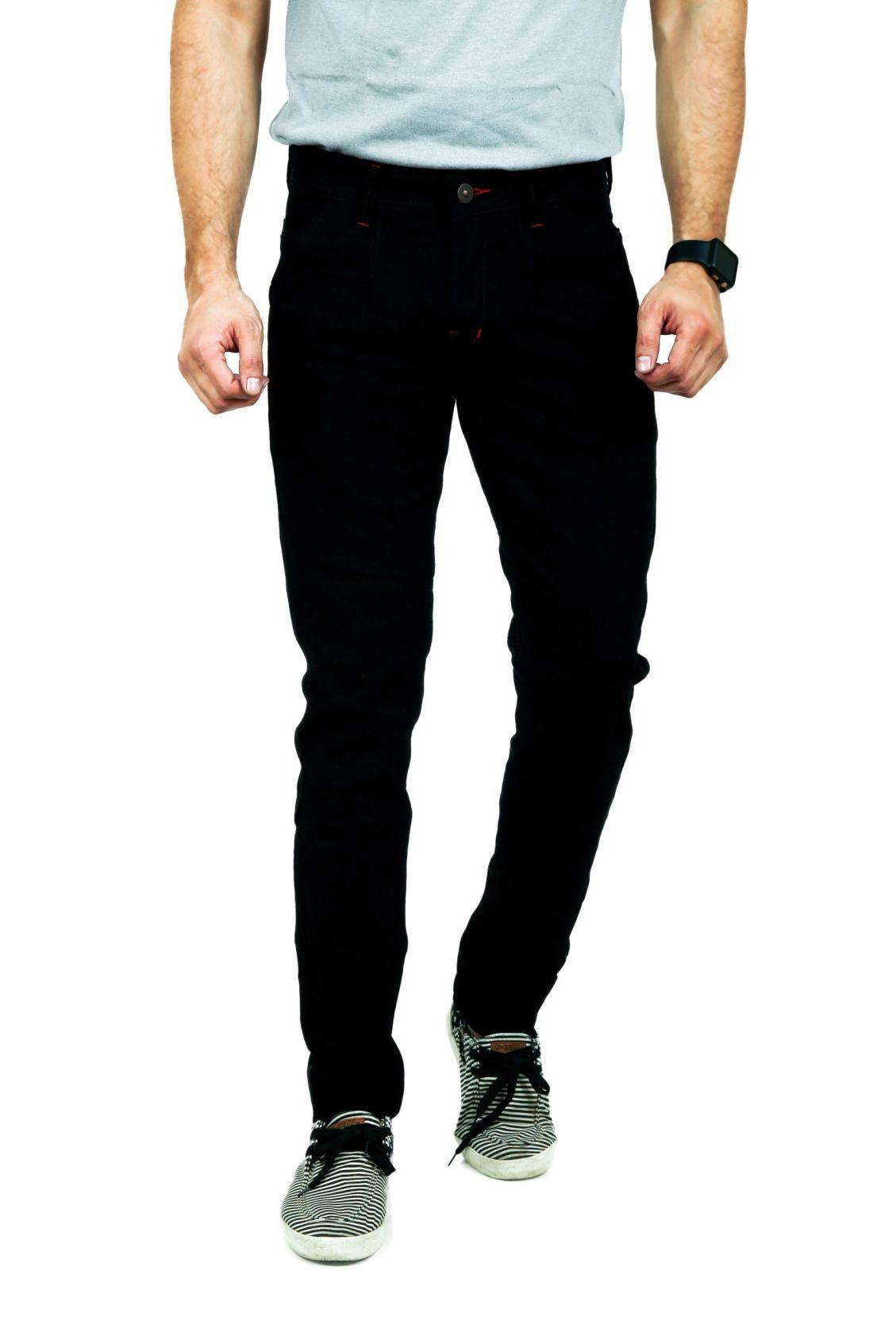 MOUDLIN Black Regular Fit Jeans