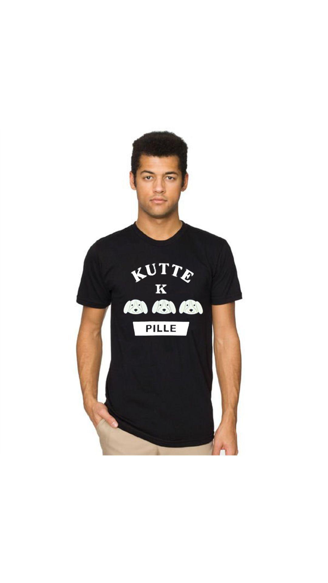 PINUSTORE Blue Round T-Shirt