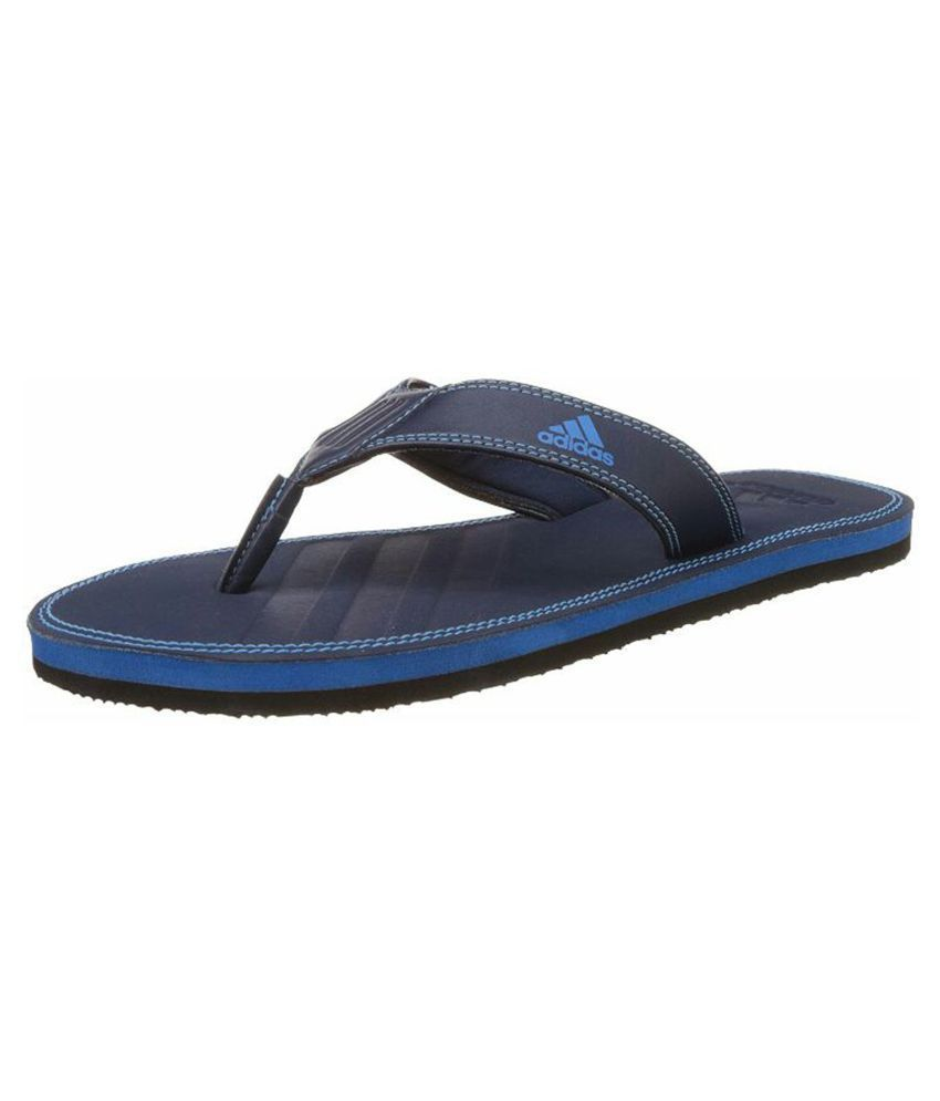 533e9330bc32 Adidas Men s 4.0 Blue Thong Flip Flop Price in India- Buy Adidas Men s 4.0  Blue Thong Flip Flop Online at Snapdeal