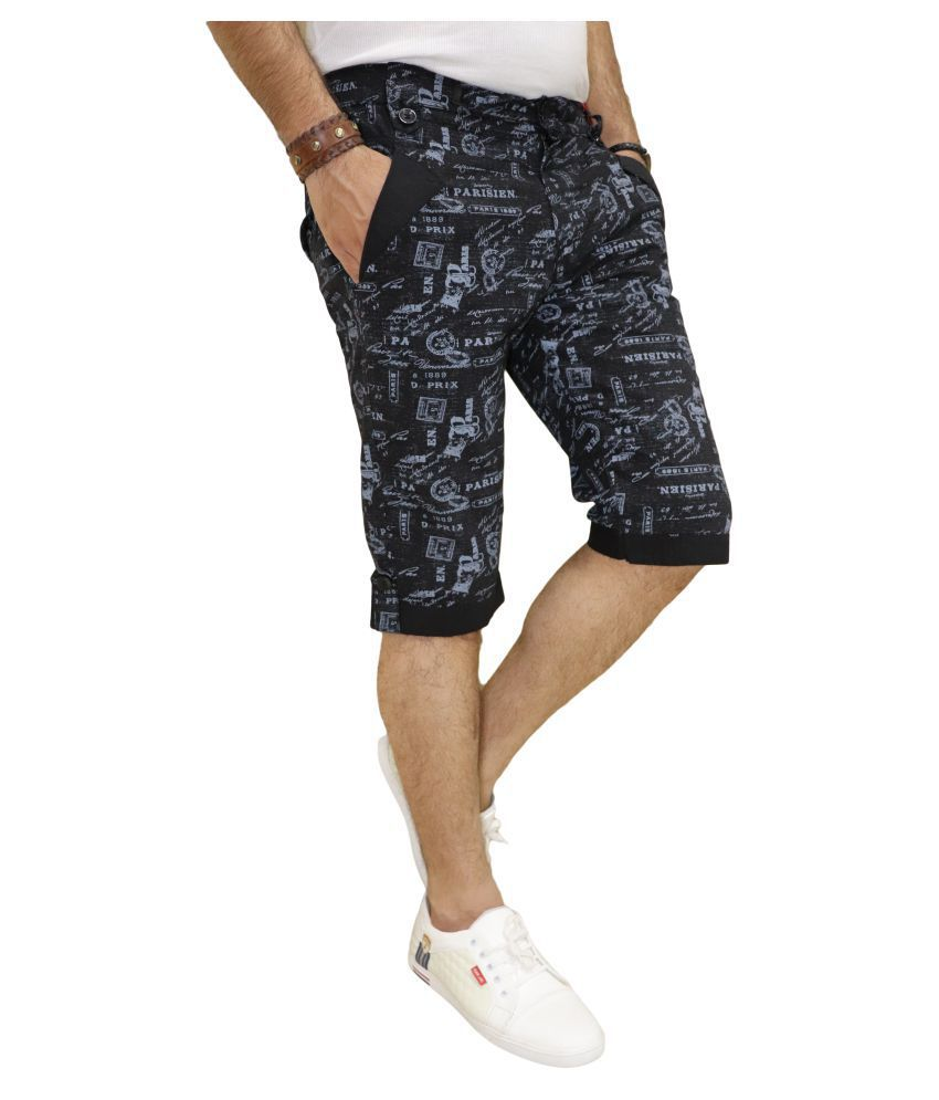 DREAM VISION Black Shorts
