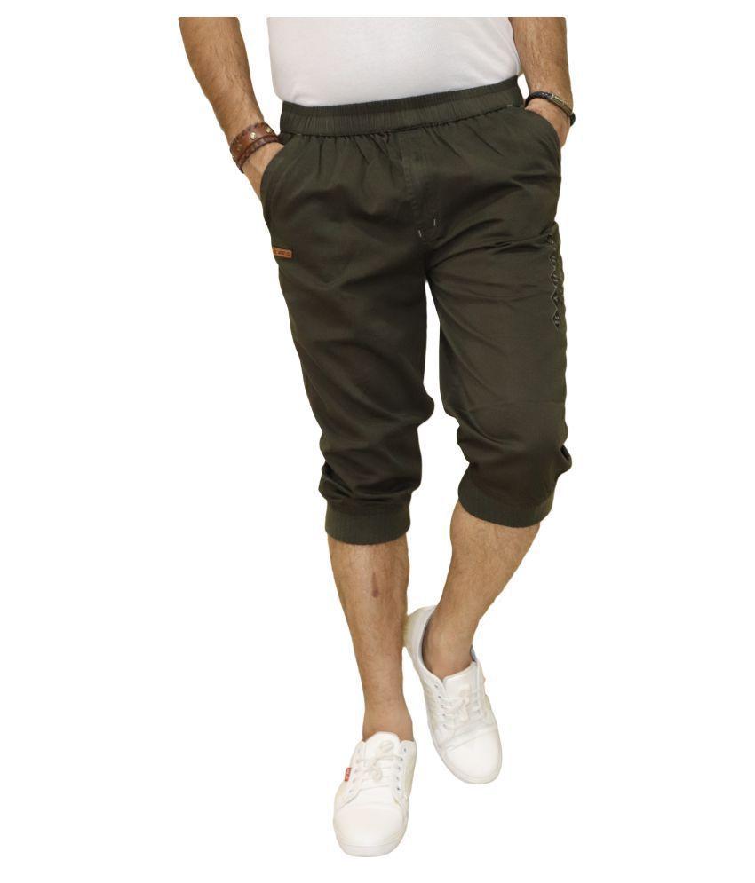 DREAM VISION Green Shorts