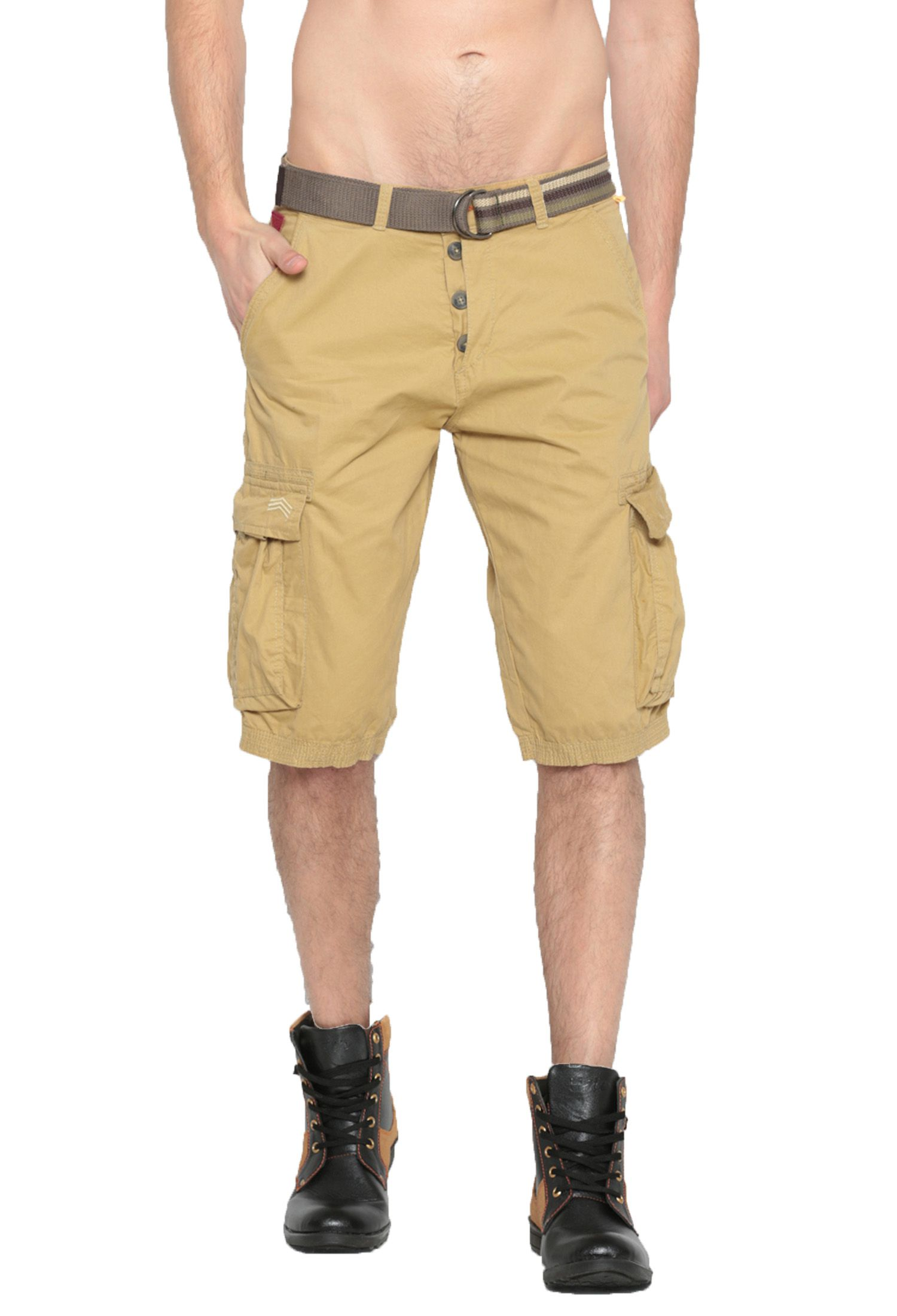Sports 52 Wear Beige Shorts