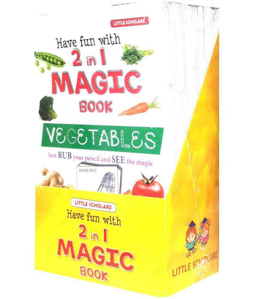 Have Fun with 2 in 1 Magic Books (Set of 20 Books)
