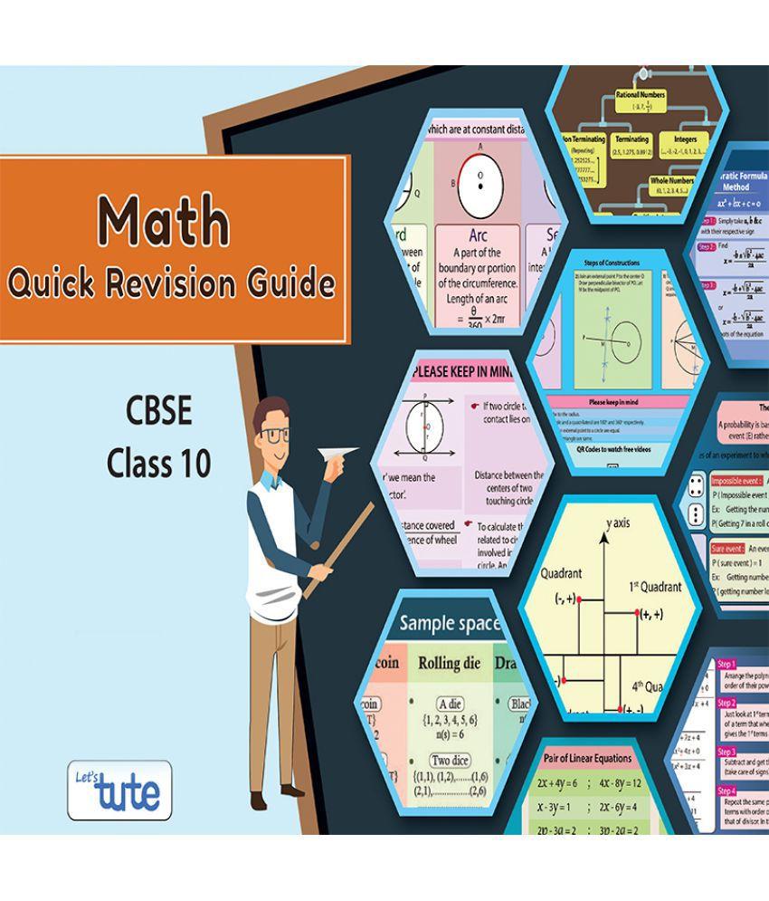 letstute cbse class 10 mathematics quick revision guide pdf rh snapdeal com