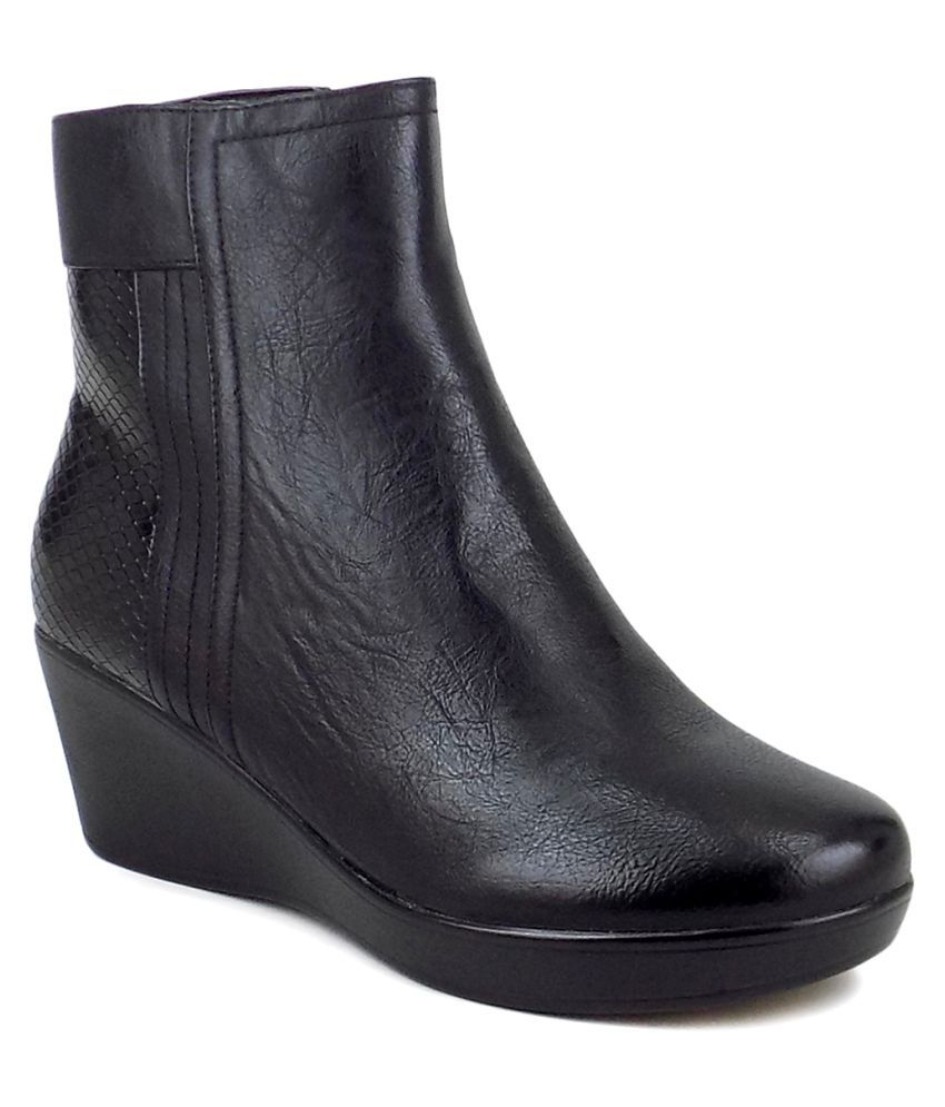 Ripley Black Ankle Length Chelsea Boots