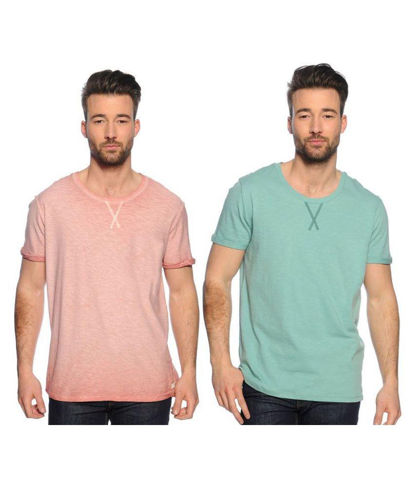 Zachi Green Round T-Shirt Pack of 2