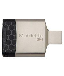 Kingston MobileLite G4 USB 3.0 Card Reader - White