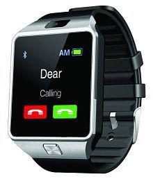 Jm Silver Bluetooth Smart Watch
