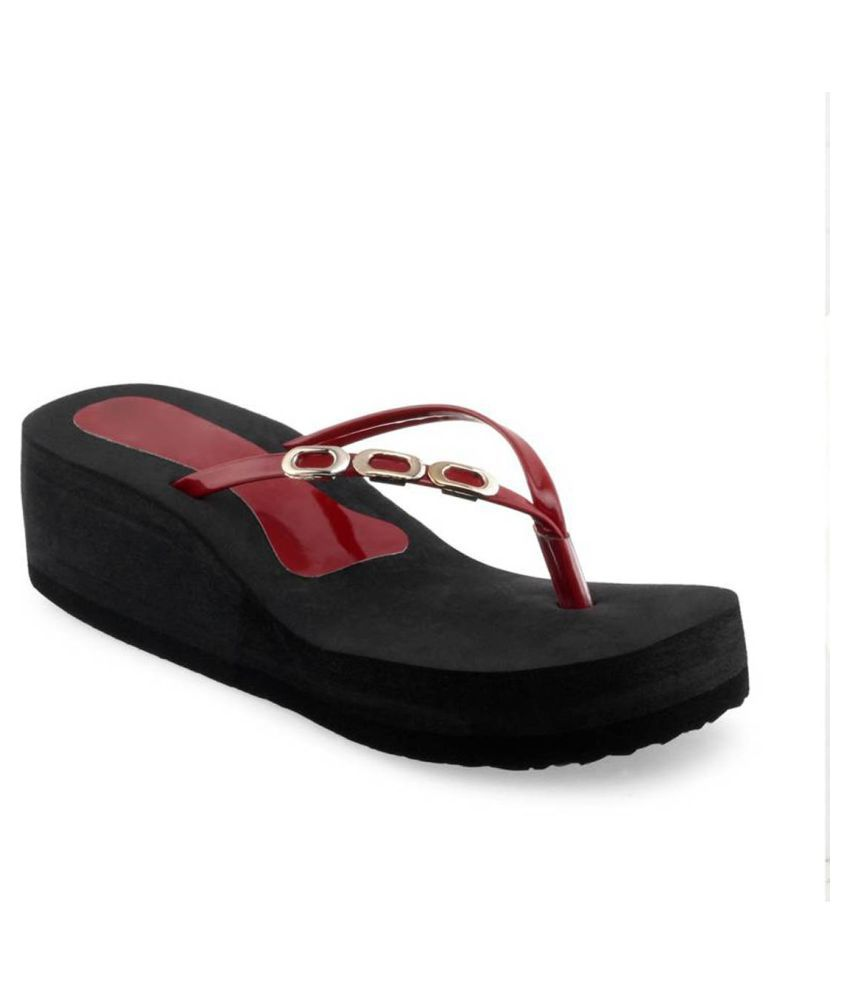 Vaniya shoes Maroon Slippers cheap sale outlet store best store to get MraIB