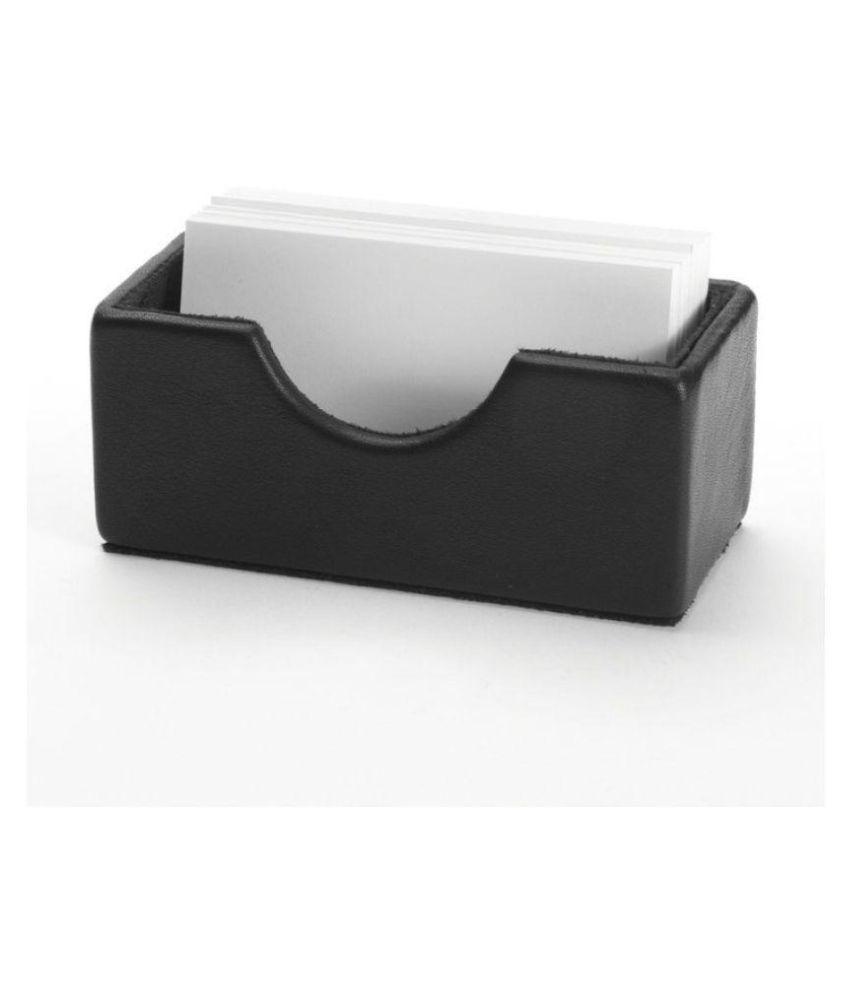 Artikle Leather Desk Business Card Holder