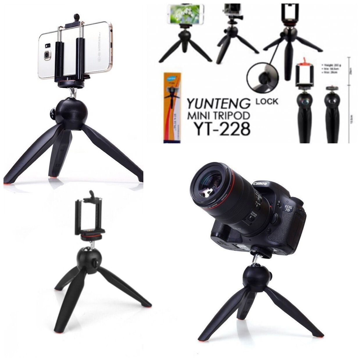 TOTU YUNTENG 228 TRIPOD HOLDER FOR ALL TYPES OF PHONES 1 Tripod Price in India- Buy TOTU YUNTENG 228 TRIPOD HOLDER FOR ALL TYPES OF PHONES 1 Tripod Online ...
